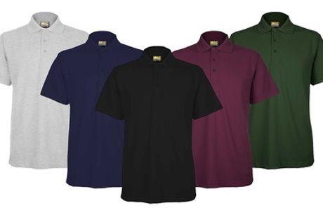 Men's MIG Short Sleeve Active Polo Three-Pack