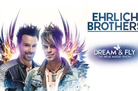"""Ehrlich Brothers mit neuer Show """"Dream & Fly"""" u. a. in Hamburg, Berlin, München, Leipzig, Köln (bis 51% sparen)"""