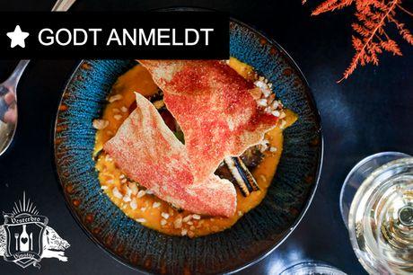 7 retter hos Vesterbro Vinstue. Fra Noma til vinstue - lad kokken give dig en fantastisk aften!