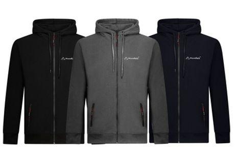 Mountfield™ hoodie met rits aan de voorkant