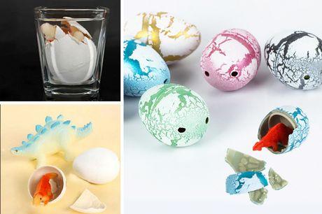 60 huevos de dinosaurio para incubar en el agua. ¡Seguro que tus pequeños adorarán la dino-oferta de hoy!Te ofrecemos 60 huevos de dinosaurio para incubar por 8,99 €, ahorrándote un 80 % de descuento sobre los precios de  Yello Goods  de 43,99 € (correcto