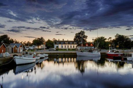 NYÅBNET HOTEL: Bo helt ud til vandet på Bongska Huset i idylliske Skåne