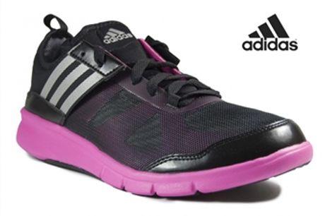 Adidas® Sapatilhas de Treino Niya Pretas e Rosa | Sola Fitfoam! - 40 por 52.14€ PORTES INCLUÍDOS