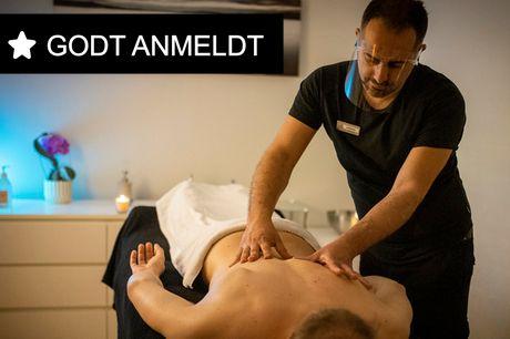 50 min. professionel massage. Kom i den syvende massage-himmel! Vælg mellem 3 massageformer