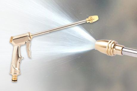 Pistola de agua de alta presión. ¡Estamos seguros que esta oferta te impresionará!Te ofrecemos unapistola de agua de alta presiónpor 5,99 €.