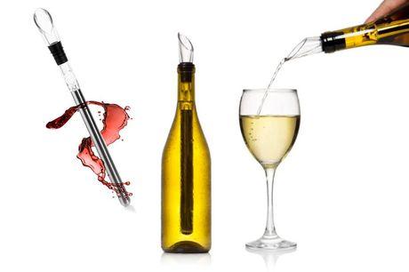 Enfriador de botellas de vino y vertedor. Que bueno es un vino que se queda frío. Date un gusto con la oferta de hoy...Te ofrecemos unun enfriador de botellas de vino y vertedor por solo5,99 €, ahorrándote un89 % de descuento sobre el precio de Wishwho