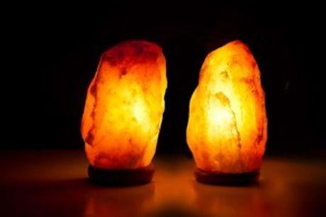 Himalaya Saltstenslampe.  Beroligende Himalaya saltstenslampe - effektiv mod stress, depressioner og søvnproblemer.
