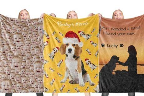 Gepersonaliseerde fleece dekens via Justyling