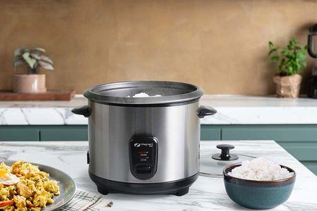 Rijstkoker 1,5 liter Binnen 20 minuutjes is de rijst klaar!<br /> Inclusief lepel en maatbeker<br /> Met warmhoudfunctie