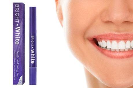 1 o 2 bolígrafos blanqueadores dentales con fórmula sin peróxido
