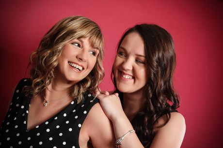 """£9 for a three-hour mother and daughter photoshoot at Xposure Studios, Liverpool including a makeover, a glass of Prosecco each, two 7"""" x 5"""" prints, chocolates and £50 gift voucher"""