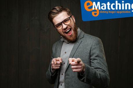 e-Matching abonnement 3 maanden Vind jouw match | Meer dan 25.000 leden<br /> Dé datingsite voor hoger opgeleiden<br /> Veilig en in een vertrouwde omgeving