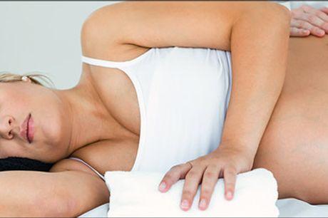 Velvære under graviditeten - Vælg mellem 45 min. eller 60 min. graviditetsmassage. Værdi op til kr. 800,-