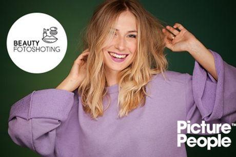 Beauty- oder Men-Fotoshooting inkl. 2 bis 4 Bildern als Datei & Ausdruck bei Picture People (bis zu 75% sparen*)