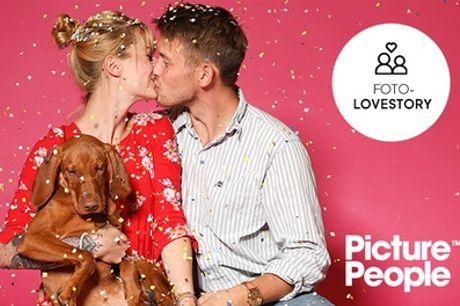 Foto-Lovestory-Fotoshooting inkl. 2-4 Bildern als Datei & Ausdruck bei PicturePeople (bis zu 75% sparen*)
