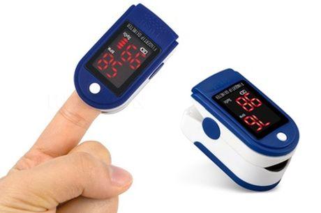 Vingerpulsoximeter met digitaal display, inclusief verzending