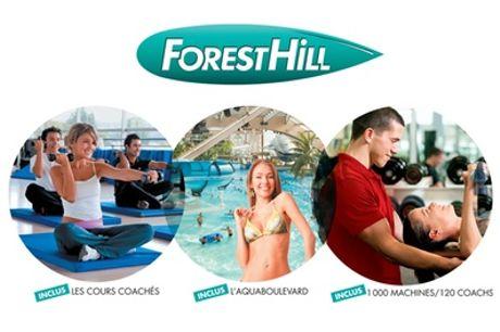 Abonnement annuel, formules au choix pour pratiquer les activités des 6 clubs Forest Hill