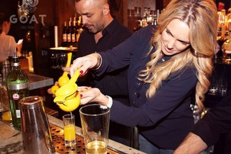 Cocktail Masterclass for One or Two with GOAT, Chelsea (Up to 15% Off)