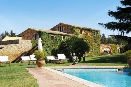 Spagna Costa Brava - Hotel Mas Salvi 4* a partire da € 75,00. Oasi di pace con mezza pensione e degustazione di vini