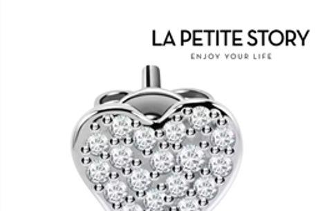 La Petit Story® Brinco Individual - LPS02ARQ11 - Com Caixa e Saco Oferta por 17.16€ PORTES INCLUÍDOS