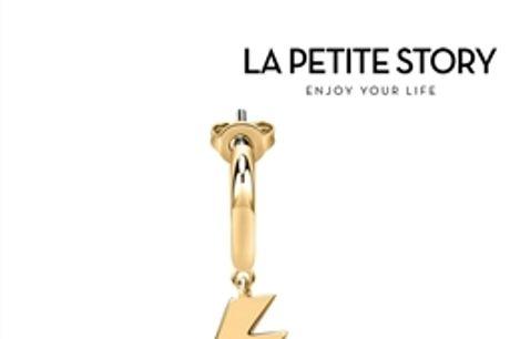 La Petit Story® Brinco Individual - LPS02ARQ35 - Com Caixa e Saco Oferta por 23.76€ PORTES INCLUÍDOS