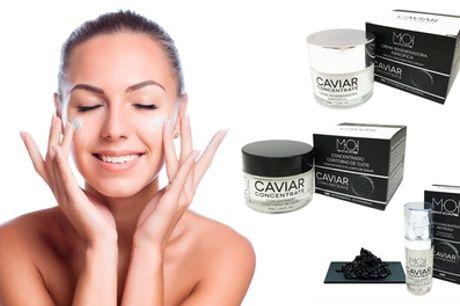Pack de crema con efecto rejuvenecedor facial con concentrado de caviar