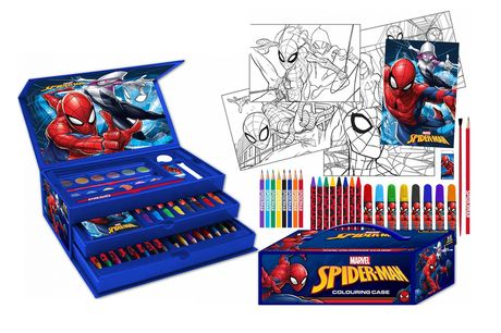 £10.99 instead of £29.99 for a 52-piece Spider-Man art set from Ram Online – save 63%