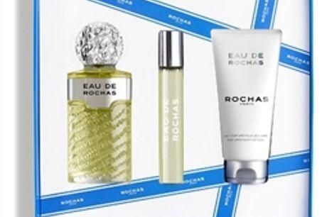 Conjunto de Perfume Mulher Eau de Rochas EDT (3 pcs) por 66.66€ PORTES INCLUÍDOS