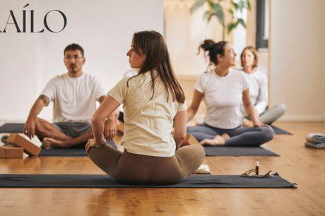 30 dages ubegrænset yoga. Find kærligheden til yoga i hyggeligt studie i KBH K