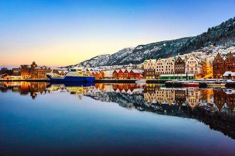 Norvegia Oslo - Tour in treno di 6 notti da Oslo a Bergen a partire da € 982,00. Capodanno nei fiordi con treno panoramico e crociera