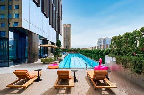 Emirati Arabi Uniti Dubai - Revier Dubai a partire da € 90,00. Expo universale dal 1 ottobre: Hotel moderno nel cuore di Business Bay