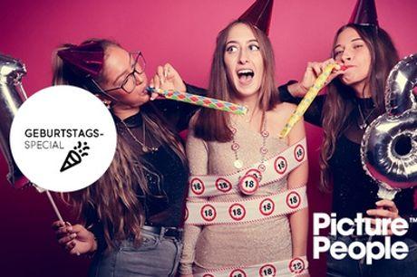 Geburtstag-Special-Fotoshooting inkl. 2-4 Bildern als Datei & Ausdruck bei PicturePeople (bis81% sparen*)