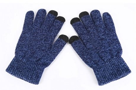 1, 2 or 3 Pairs of Touchscreen Winter Gloves - 3 Colours     Choose from black, grey and navy blue     Access your phone easily without having to take your gloves off     Cosy, fashionable and practical     One size fits all     Perfect for winter.