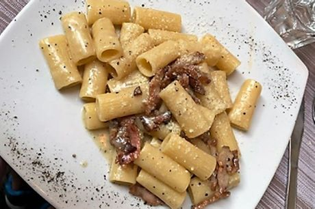 Menu romano con bottiglia di vino da I Fratellini Cucina Casereccia Romana Piazza Navona (sconto 62%)