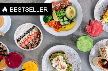 Frit valg hos Mælk & Honning. Nyåbnet børnevenlig café i hjertet af Valby - HALV PRIS