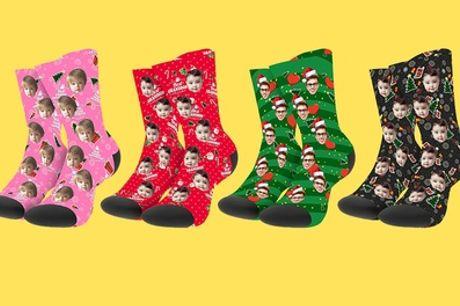 Gepersonaliseerde sokken via Justyling