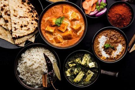 Plat indien au choix avec riz à volonté pour 1 ou 2 personnes au restaurant Indian Street Food