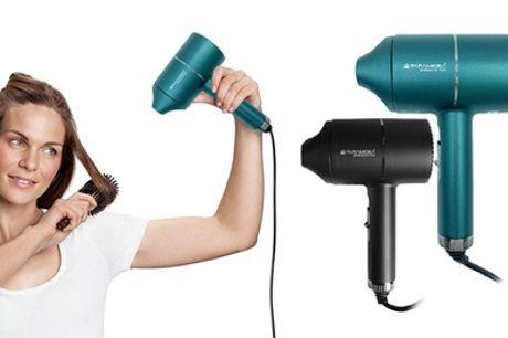 Secador de pelo con accesorio difusor de boquilla