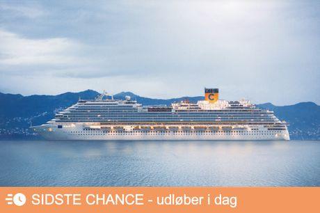 Krydstogt til de norske fjorde. Oplev Skandinaviens smukkeste natur på et fantastisk krydstogt med afgang i maj eller juli 2022. Betal kun depositum nu