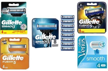 Gillette vervangende scheermesjes, inclusief verzending