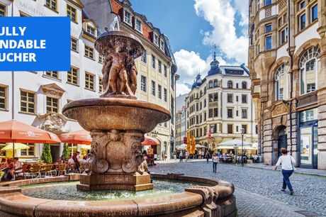 £69 -- Leipzig: deluxe stay in Saxony's 'coolest city'