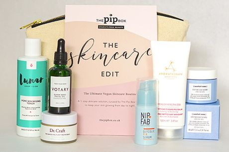 £34 instead of £79 for an ultimate vegan skincare kit from The Pip Box - save 57%