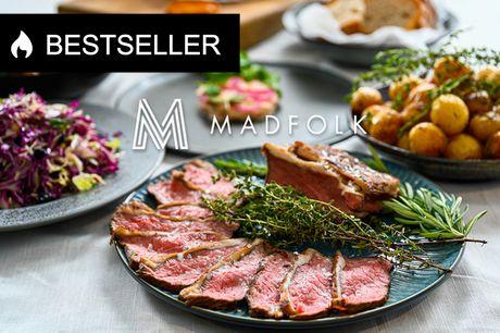 Catering: 8-retters Ny Nordisk buffet. NY MENU: Lad Madfolk stå for maden, så du kan nyde festen og gæsterne