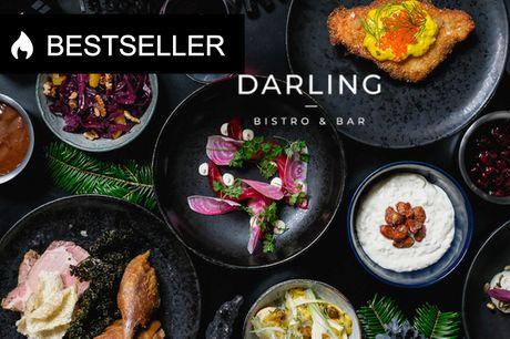 Frit valg hos Darling Bistro & Bar. Prøv fx deres julemenu, skaldyr, cocktails og meget mere