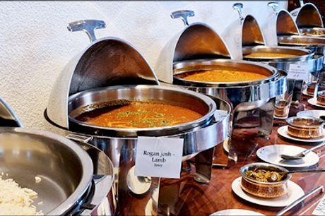 Indisk buffet med smag - Autentisk indisk buffet med valgfri drik for 1 person. Værdi kr. 175,-