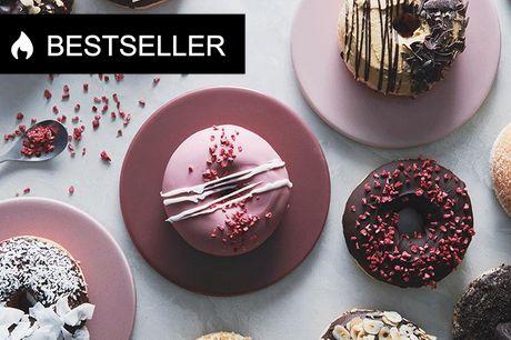 Bestseller: 4 lækre donuts på Frederiksberg Her bages nemlig de smukkeste og seriøst lækre donuts i et væld af variationer. Måske er du til en oreo-donut, drømmekage-donut eller en donut med kaffe og nødder.