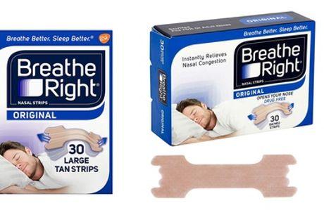 1, 2 of 3 sets van 30 neusstrips van het merk Breathe Right