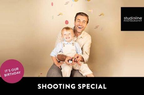Geburtstag-Special-Fotoshooting-Erlebnis + Bilder & Goldcard bei studioline Photography (bis zu 86% sparen*)