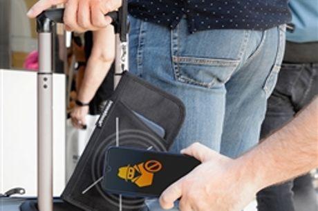Carteira de Viagem Eletrónica Antifurto Wallock InnovaGoods por 18.48€ PORTES INCLUÍDOS