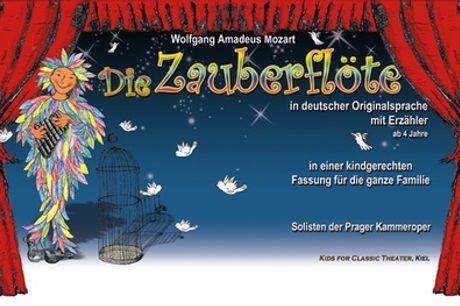 """2 Tickets für """"Die Zauberflöte"""" in kindgerechter Fassung mit Erzähler im Dezember 2021 (bis zu 43% sparen)"""